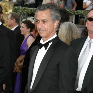 David Strathairn in The 78th Annual Academy Awards - Red Carpet Arrivals