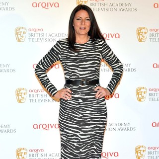 Davina McCall in The 2012 Arqiva British Academy Television Awards - Winners Board