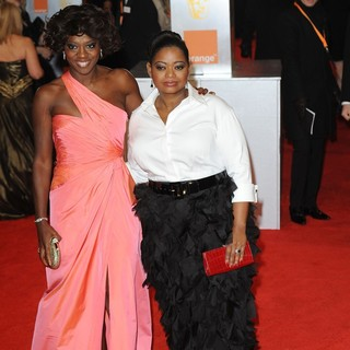 Viola Davis, Octavia Spencer in Orange British Academy Film Awards 2012 - Arrivals