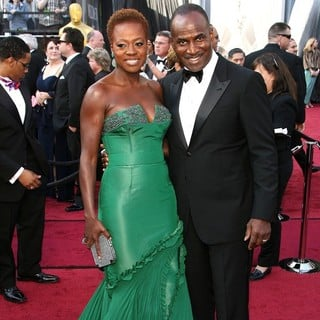 Viola Davis, Julius Tennon in 84th Annual Academy Awards - Arrivals