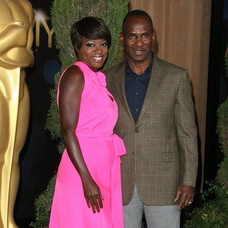 Viola Davis, Julius Tennon in 84th Annual Academy Awards Nominees Luncheon