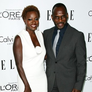 Viola Davis, Julius Tennon in ELLE's 19th Annual Women in Hollywood Celebration - Arrivals
