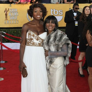Viola Davis, Cicely Tyson in The 18th Annual Screen Actors Guild Awards - Arrivals