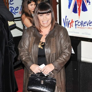 Dawn French in VIVA Forever Spice Girls The Musical - Arrivals