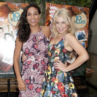 Rosario Dawson, Ari Graynor in 10 Years Brunch Reunion Event - Arrivals