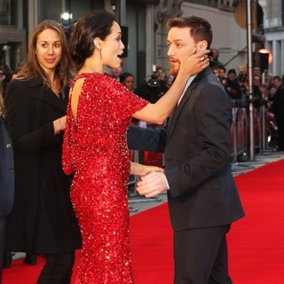 Rosario Dawson, James McAvoy in Trance World Premiere - Arrivals