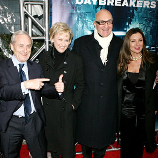 "Harry Evans, Tina Brown in NYC Premiere of ""Daybreakers"""