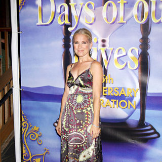 Melissa Reeves in The Days of Our Lives 45th Anniversary Party
