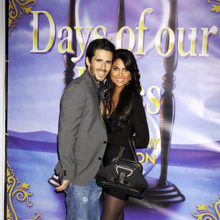 Brandon Beemer, Nadia Bjorlin in The Days of Our Lives 45th Anniversary Party
