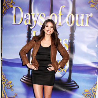 Shelley Hennig in The Days of Our Lives 45th Anniversary Party