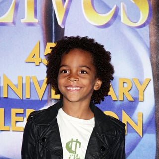 Terrell Ransom Jr. in The Days of Our Lives 45th Anniversary Party