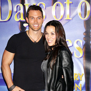 Eric Martsolf in The Days of Our Lives 45th Anniversary Party