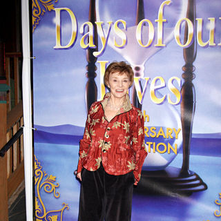 Peggy McCay in The Days of Our Lives 45th Anniversary Party