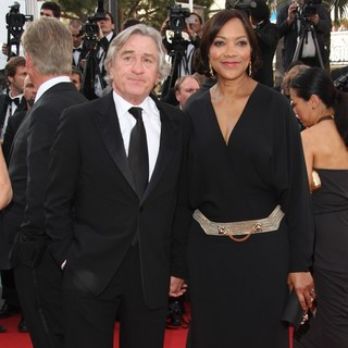 Robert De Niro, Grace Hightower in Madagascar 3: Europe's Most Wanted Premiere- During The 65th Cannes Film Festival