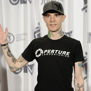 Deadmau5 in 2012 JUNO Awards - Press Room