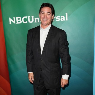 Dean Cain in NBC Universal Press Tour