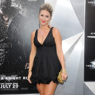 Deanna Brigidi in The Dark Knight Rises New York Premiere - Arrivals