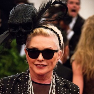 Debbie Harry, Blondie in PUNK: Chaos to Couture Costume Institute Gala