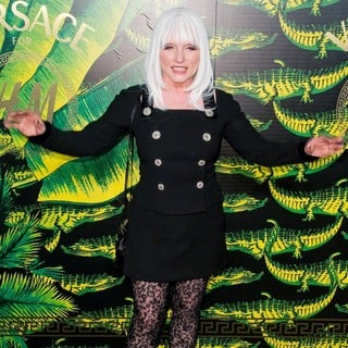 Debbie Harry in Versace for H and M Fashion Show and Party