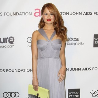 Debby Ryan in 21st Annual Elton John AIDS Foundation's Oscar Viewing Party