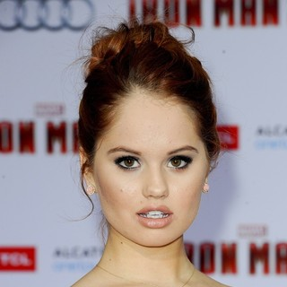 Iron Man 3 Los Angeles Premiere - Arrivals - debby-ryan-premiere-iron-man-3-01