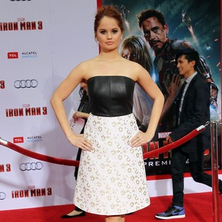 Iron Man 3 Los Angeles Premiere - Arrivals - debby-ryan-premiere-iron-man-3-03