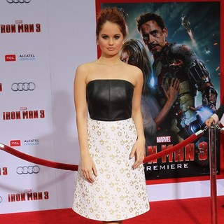 Iron Man 3 Los Angeles Premiere - Arrivals - debby-ryan-premiere-iron-man-3-04