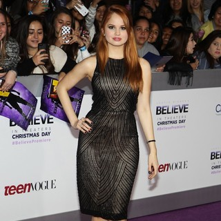Debby Ryan in Open Road Films Justin Bieber's Believe Memoir and Concert Film Presented by Teen Vogue