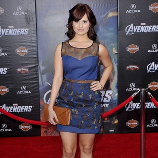 Debby Ryan in World Premiere of The Avengers - Arrivals