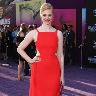 Deborah Ann Woll in The World Premiere of Marvel Studios' Guardians of the Galaxy Vol. 2