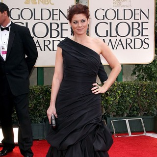 Debra Messing in The 69th Annual Golden Globe Awards - Arrivals