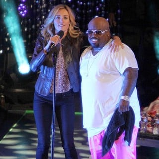 Cat Deeley, Cee-Lo in Escape to Total Rewards Los Angeles - Performances