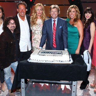 Beverly Frank, Mike Darnell, Barry Adelman, Cat Deeley, Nigel Lythgoe, Mary Murphy, Zooey Deschanel, Orly Adelson in So You Think You Can Dance Celebrates Its 200th Episode
