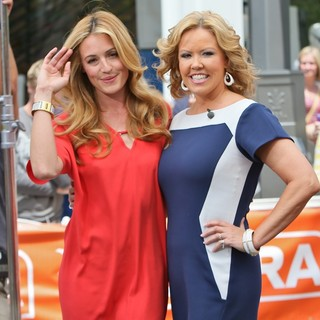 Cat Deeley, Mary Murphy in So You Think You Can Dance Judges for An Appearance on Extra