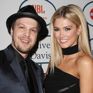 Gavin DeGraw, Delta Goodrem in 2014 Pre-Grammy Gala and Grammy Salute to Industry Icons - Clive Davis