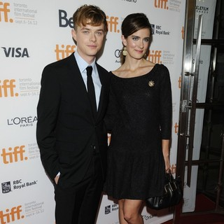 Dane DeHaan, Anna Wood in The 2012 Toronto International Film Festival - The Place Beyond the Pines - Premiere