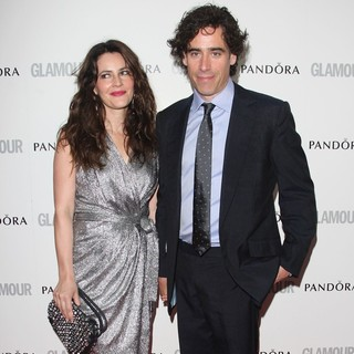 Louise Delamere, Stephen Mangan in The Glamour Women of The Year Awards 2012 - Arrivals