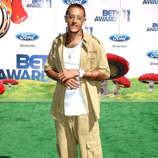 Delonte West in BET Awards 2011