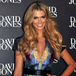 Delta Goodrem in David Jones Collection Autumn-Winter 2012 Launch - Arrivals