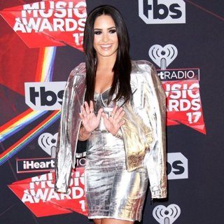 Demi Lovato in 2017 iHeart Radio Music Awards - Press Room