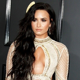 Demi Lovato in 59th Annual GRAMMY Awards - Arrivals