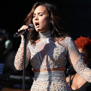 Demi Lovato-Global Citizen Festival 2016