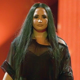 Demi Lovato Performing at The SSE Hydro