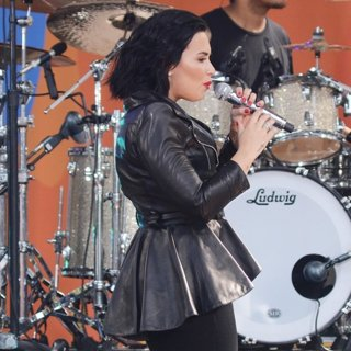 Demi Lovato Performing Live at ABC's Good Morning America