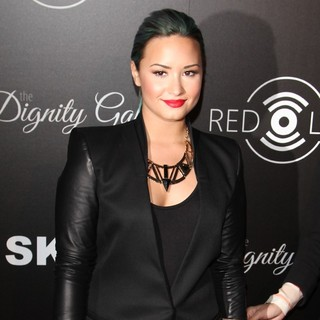 Demi Lovato - Red Light Traffic App Launch Event - Arrivals