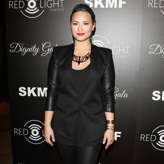 Demi Lovato in Red Light Traffic App Launch Event - Arrivals