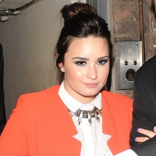 Demi Lovato in Sony Music Aftershow - Departures