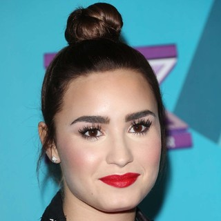 Demi Lovato in FOX's The X Factor Finalists Party - Arrivals