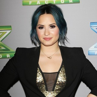 Demi Lovato in The X Factor Season 3 Finale - Arrivals