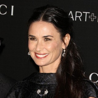 Demi Moore in 2014 LACMA Art + Film Gala Honoring Barbara Kruger and Quentin Tarantino Presented by Gucci